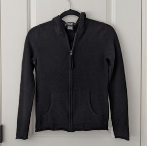 Lord & Taylor cashmere zip up hoodie